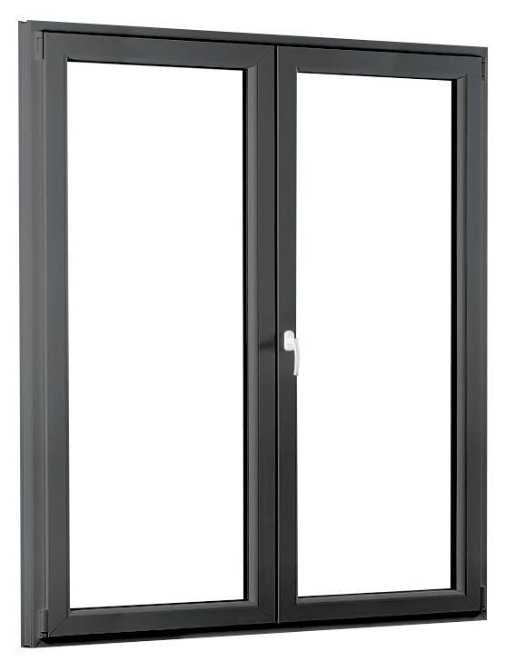 Dvojkrídlové plastové balkónové dvere PREMIUM 1500 × 2080