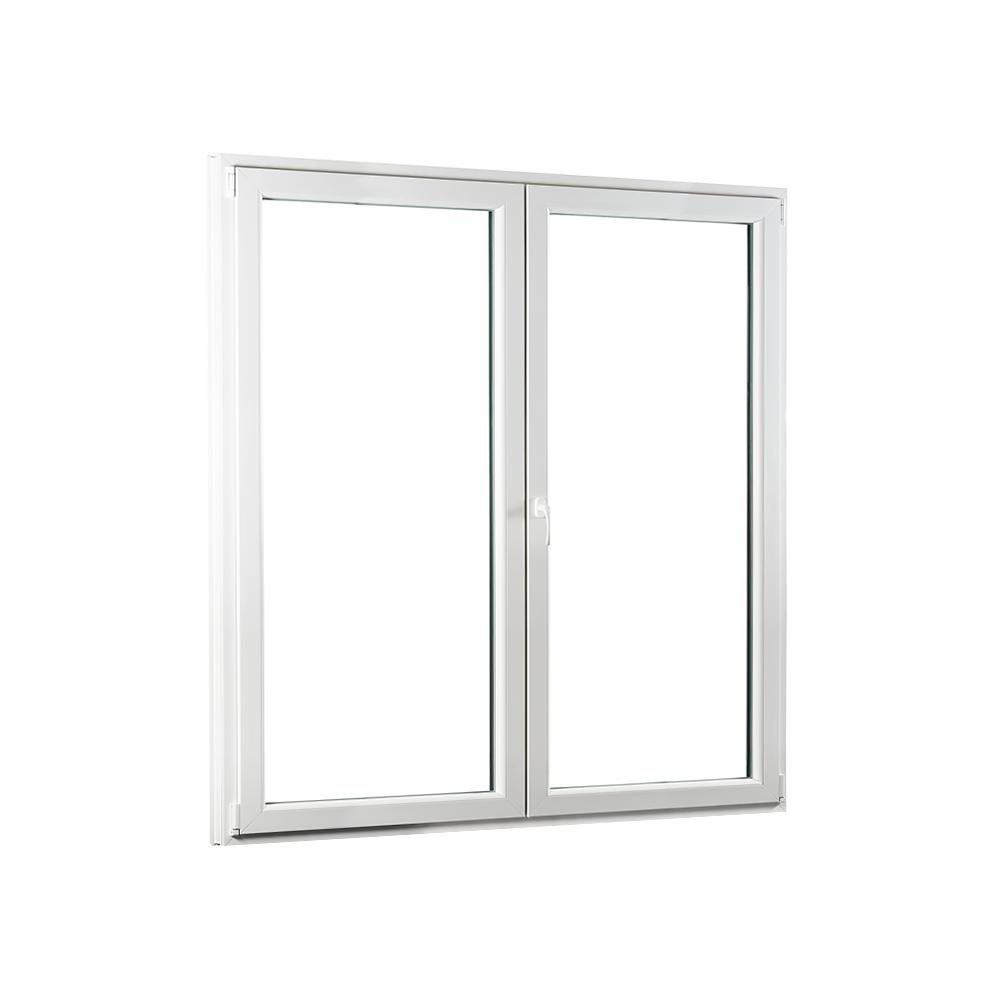 SKLADOVE-OKNA.sk - Dvojkrídlové plastové balkónové dvere PREMIUM - 1700 x 2080 mm, barva biela/zlatý dub
