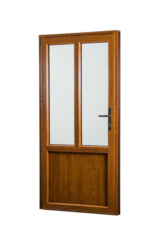 SKLADOVE-OKNA.sk - Vedľajšie vchodové dvere PREMIUM, ľavé - 880 x 2080 mm, barva biela