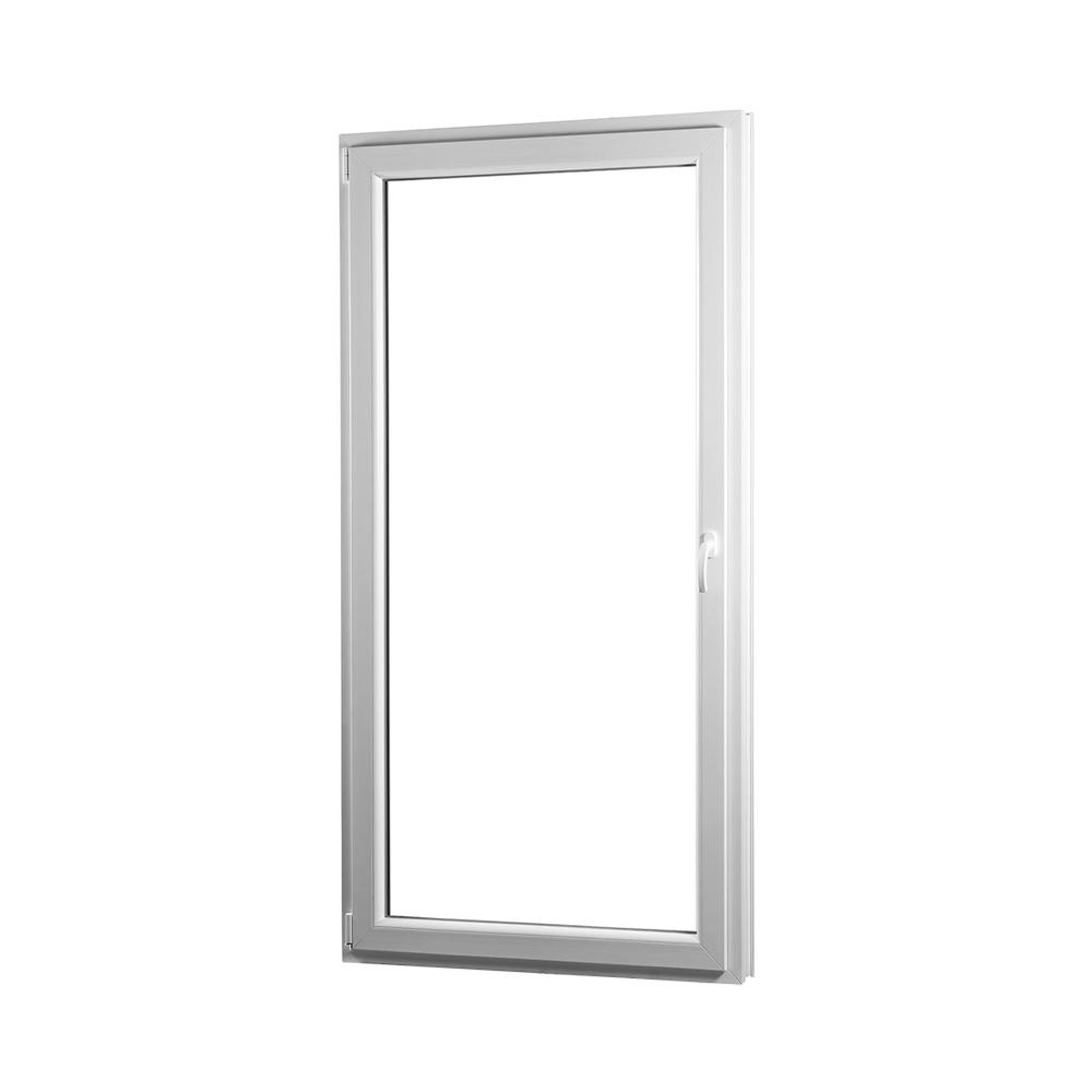 SKLADOVE-OKNA.sk - Jednokrídlové plastové balkónové dvere PREMIUM, ľavé - 950 x 2080 mm, barva biela