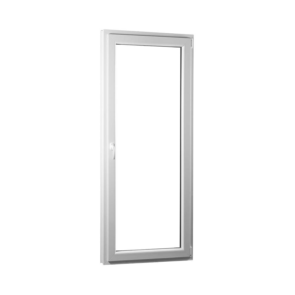 SKLADOVE-OKNA.sk - Jednokrídlové plastové balkónové dvere PREMIUM, pravé - 800 x 2080 mm, barva biela/zlatý dub