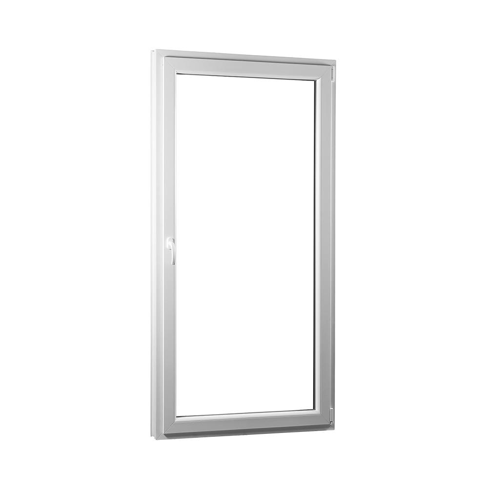 SKLADOVE-OKNA.sk - Jednokrídlové plastové balkónové dvere PREMIUM, pravé - 950 x 2080 mm, barva biela